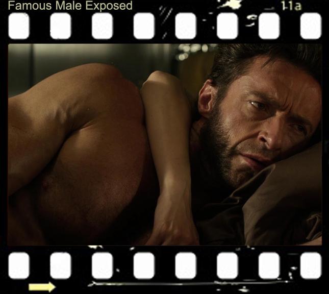 Hugh Jackman Goes Nude In