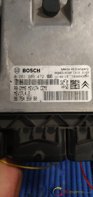 Solved!  KTM Bench identified Bosch MEDC17 ECU failure 3