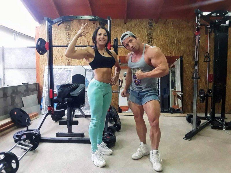 Lorena Garrido y Matías Elgueta