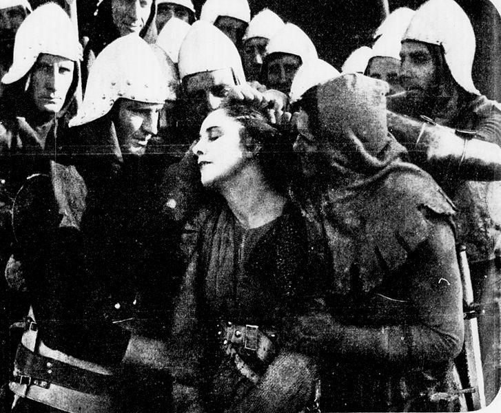 GERALDINE FARRAR EM JOANA D'ARC - JOAN THE WOMAN (1916)