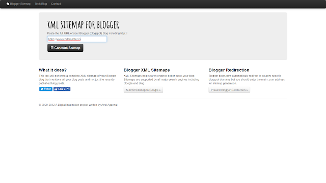 How To Create and Submit a Blogger Sitemap in Hindi - Codemaster.in