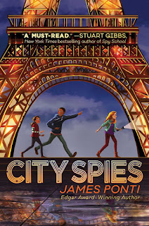 review of City Spies by James Ponti