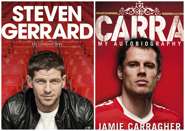 Win Steven Gerrard and Jamie Carragher official signed shirts