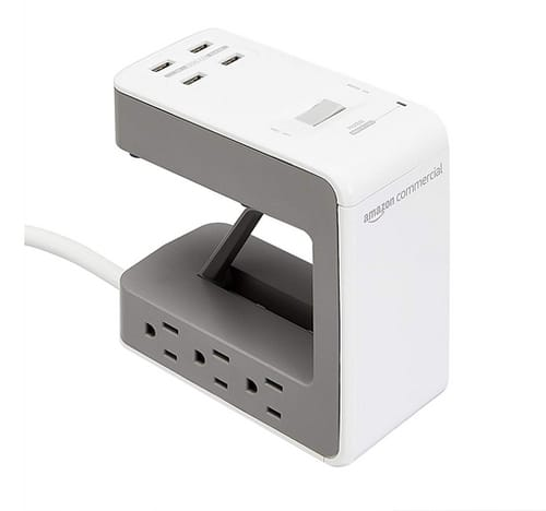 AmazonCommercial AC and USB Desktop Outlet