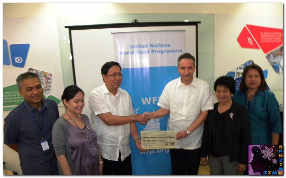Amazing Jing For Life World Food Day Unilever And World Food Programme Partnered To Improve Welfare Of Schoolchildren In Central Mindanao