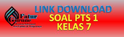 Kumpulan Download Soal dan Kunci Jawaban PTS SMP/MTs Kelas 7 Semester 1 Tahun Pelajaran 2021/2022