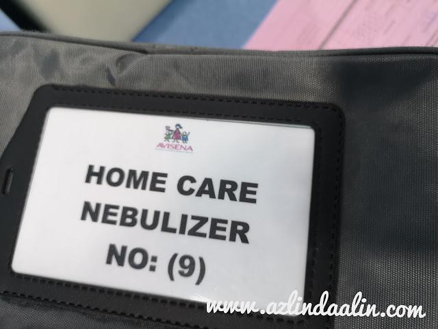HOME CARE NEBULIZER DARI AVISENA WOMEN'S AND CHILDREN'S SPECIALIST HOSPITAL