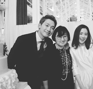 Rain Kim Tae hui wedding photo