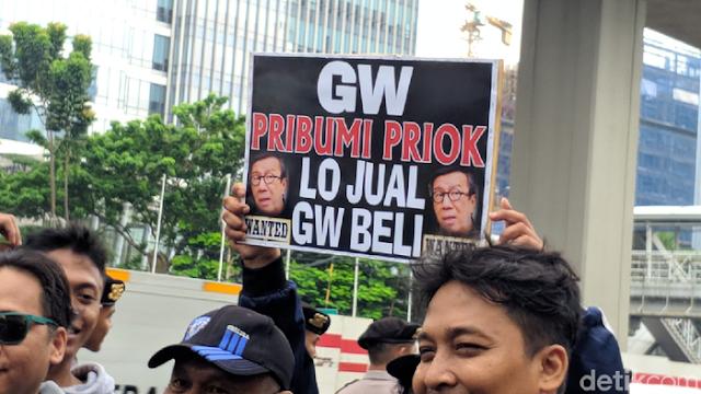 Jika Yasonna Tak Minta Maaf 2x24 Jam, Warga Tj Priok Ancam Demo Lebih Besar