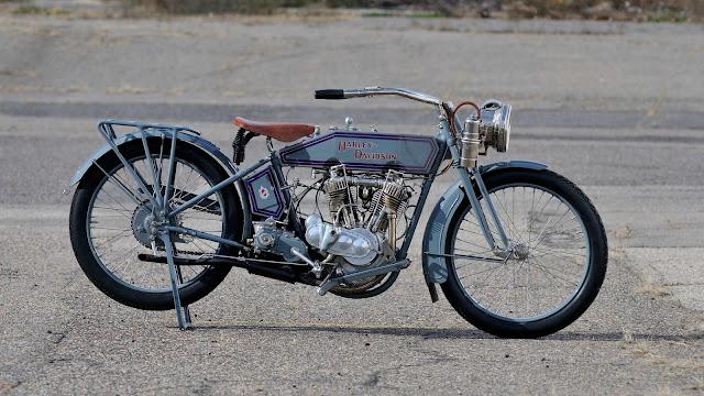 Harley-Davidson Model 11F Exhaust Sound
