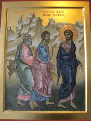Discípulos de Emaús - Imagens, pinturas, ícones, vitrais