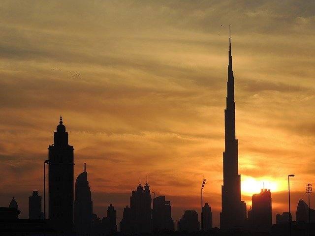 Gedung tertinggi di dunia Burj Khalifa