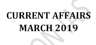 Vision IAS Current Affairs March 2019 - Download PDF