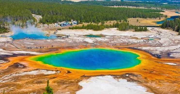 Yellowstone yanardağı eğer infilak ederse iklim değişikliklerine neden olabilir.