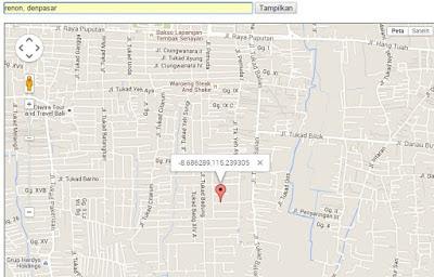 Cara Menampilkan Google Map dengan Geolocation