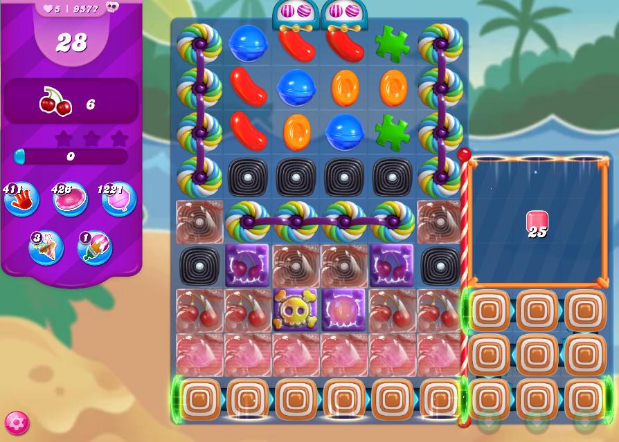 Candy Crush Saga level 9577