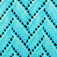 Flemish Block Lace Knitting Pattern. An interesting knit with easy to memorize patterns
