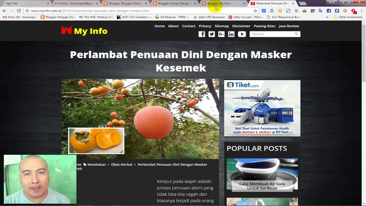 Merubah Blog Custom Template Menjadi AMP HTML Part 4