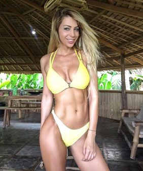 Yanita Yancheva Fitness Inspiration Women Who Lift Strong Toned Abs Sea