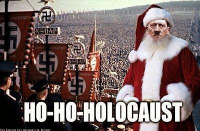 Adolf Hitler als Weihnachtsmann böse Menschen