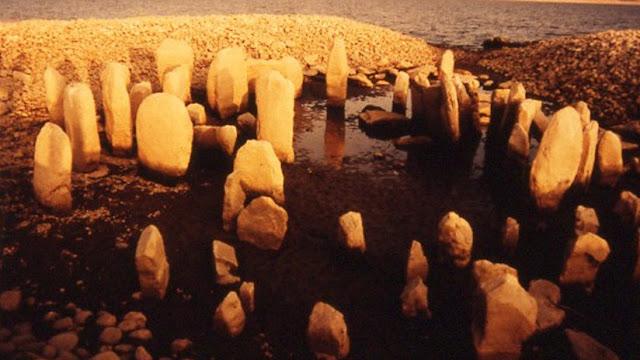 La sequía deja al descubierto el 'Stonehenge español' de 5.000 años de antigüedad tras 50 años bajo el agua