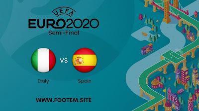 Italy vs Spain footem