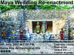 Mayan Wedding Re-enactment