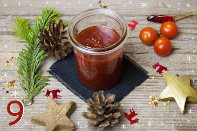 Tomatenmarmelade mit Chili und Vanille