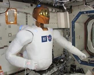 robonaut merupakan salah satu robot tercanggih di dunia