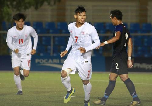 U22 Myanmar vào bán kết với ngôi đầu bảng A 1