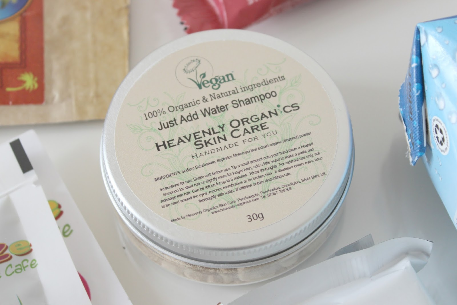 A picture of Heavenly Organics 'Just Add Water' Shampoo