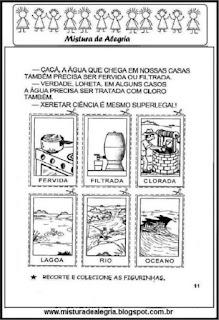 Desenhos o ciclo da água