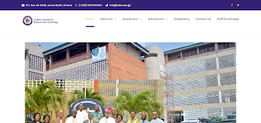 Catholic Institute of Business and Technology (CIBT) website