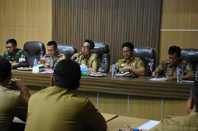 Pemkab Lampung Timur Bahas Percepatan Pelaksanaan Berusaha Daerah