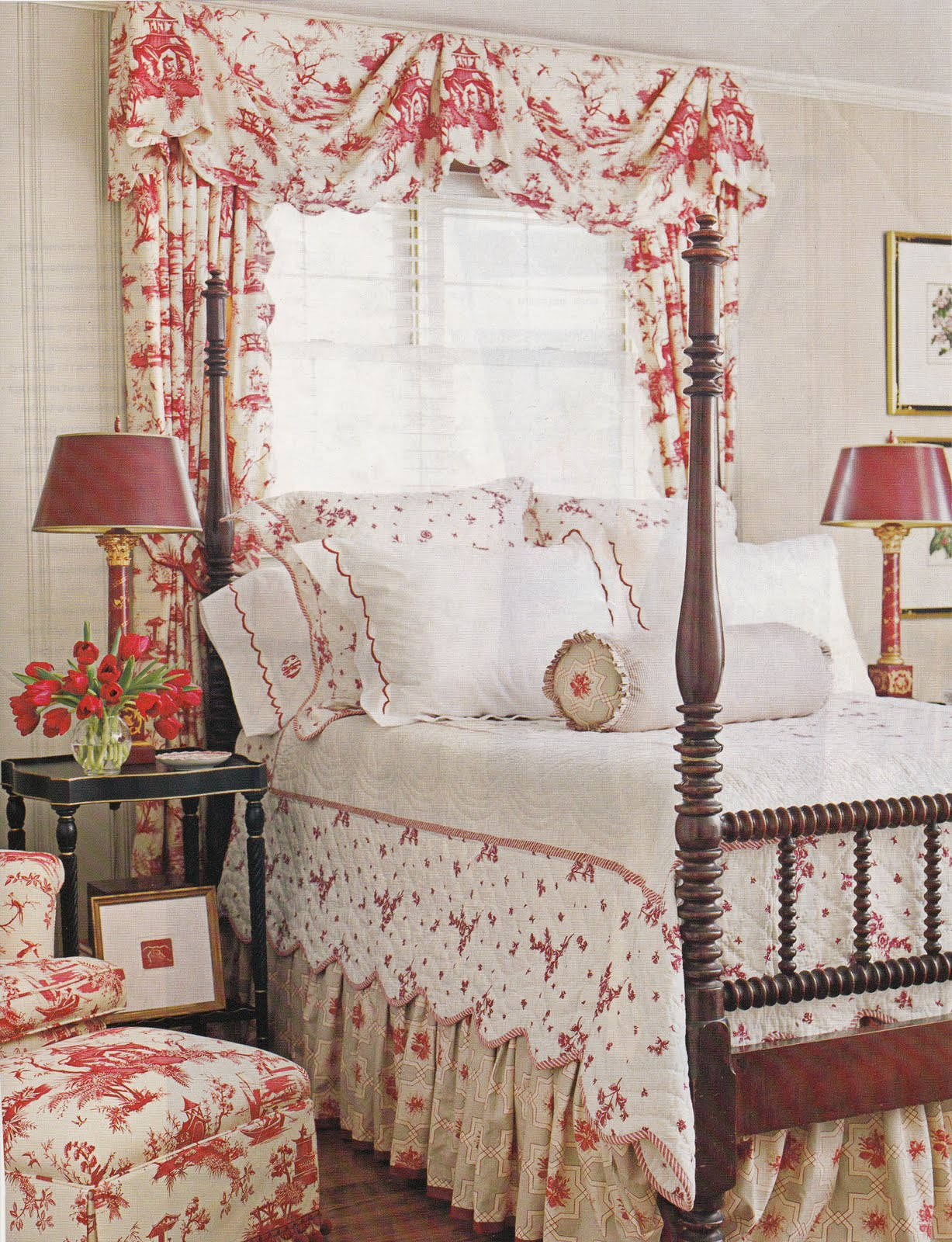 Hydrangea Hill Cottage Toile Tales