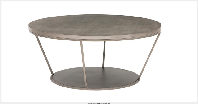 Top Round Metal Coffee Table