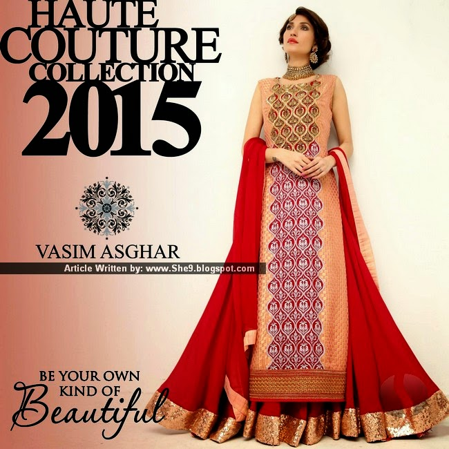 Vasim Asghar Haute Couture Collection 2015