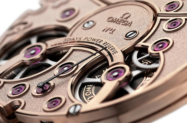 Omega De Ville Tourbillon Numbered Edition, the Calibre 2640