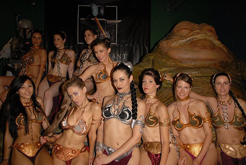 jedi bikini girls group photo