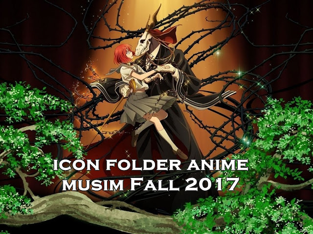 Download Icon Folder Anime Musim Fall 2017 Pack