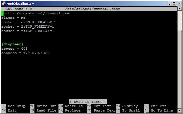Cara Mengubah Port SSL di Script Auto Install SSH dan OpenVPN