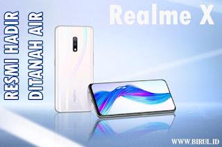 Harga Cuma 3 Jutaan! Berikut Spesifikasi Realme X