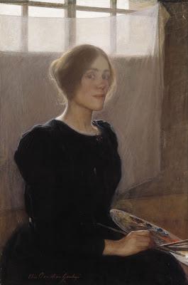 Autoportrait (1900), Elin Danielson Gambogi