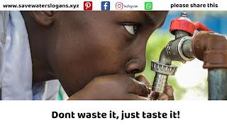 save water slogans 11