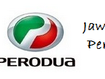 Jawatan kosong Perodua Sales Sdn Bhd 21 Jun 2017