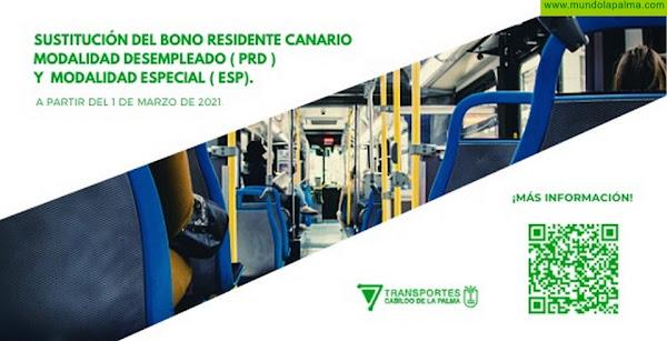 El Cabildo inicia una campaña para sustituir los bonos de residentes canarios en las modalidades de desempleados y especiales