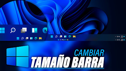 Cambiar Tamaño BARRA DE TAREAS Windows 11