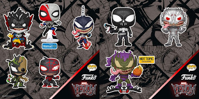 Marvel Venomized POP! Vinyl Figures by Funko