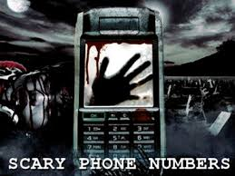 scary phone numbers