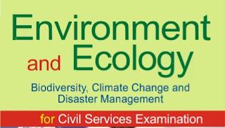 WBCS Environmental And Ecology Book